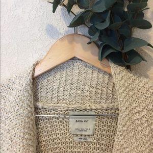 ZARA   Oversized Sweater/Cardigan